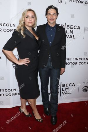 Stock Image of Sandy Chronopoulos, director and Zac Posen