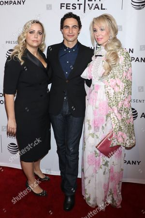 Sandy Chronopoulos, director, Zac Posen and Suzanne Rogers