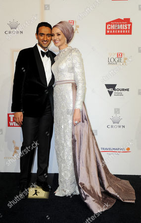 Stock Image of Waleed Aly and Susan Carland
