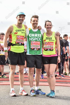 Gwilym Lee, Christopher Harper and Jessica Ransom