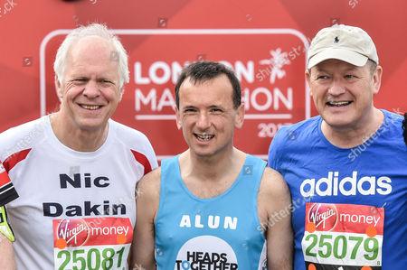 Editorial image of Celebrities at the Virgin Money London Marathon, UK - 23 Apr 2017