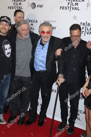 Adam Rifkin, Robert De Niro and Burt Reynolds