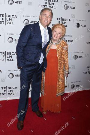 Spencer Garrett and Kathleen Nolan