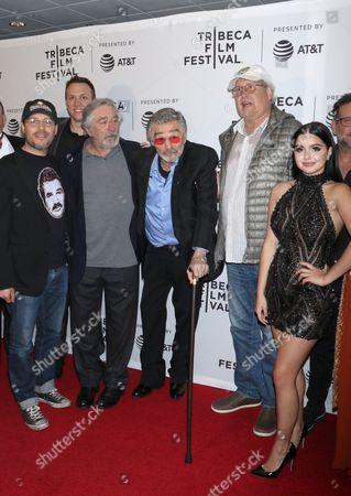 Adam Rifkin, Robert De Niro, Burt Reynolds, Chevy Chase and Ariel Winter
