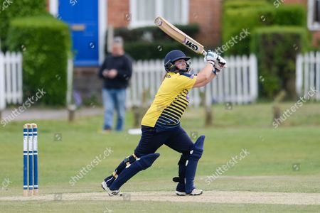 Editorial picture of Hampshire CCC Women v Middlesex CCC Women, ECB WOMEN'S County Championship - 23 Apr 2017