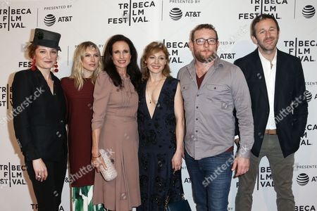 Francesca Faridany, Dree Hemingway, Andie MacDowell, Juliet Rylance, James Adomian, Chris O'Dowd