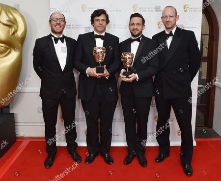Editorial picture of British Academy Television Craft Awards, Press Room, London, UK - 23 Apr 2017