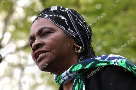 Martha Osamor, political activist and mother of Kate Osamor MP at Ducketts Common