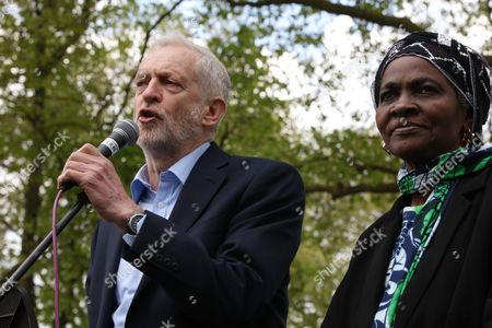Jeremy Corbyn MP, Martha is the mother of Kate Osamor MP Ducketts Common