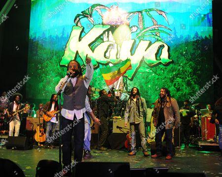 Ky-Mani Marley, Julian Marley, Damian Marley, Stephen Marley, Ziggy Marley