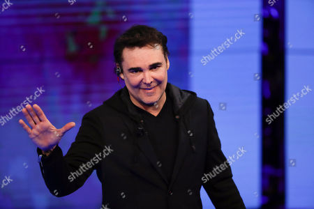 Stock Picture of In this image taken, U.S. photographer David LaChapelle attends 'Che tempo che fa' Rai Italian state TV program, in Milan, Italy