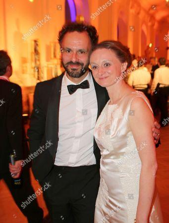 Gerti Drassl with Mann
