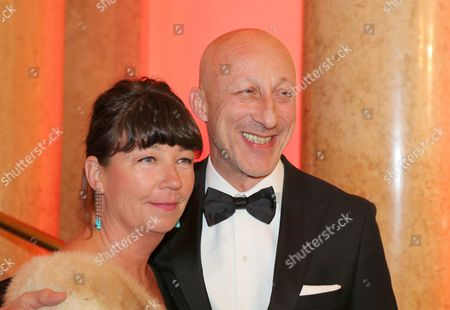 Oliver Hirschbiegel and wife