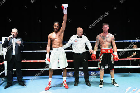 Editorial picture of Black Country Promotions Show, Boxing, The Deco, Northampton, United Kingdom - 21 Apr 2017