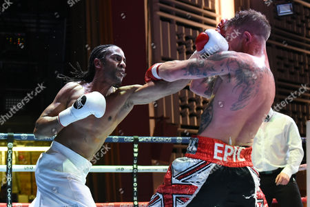 Editorial photo of Black Country Promotions Show, Boxing, The Deco, Northampton, United Kingdom - 21 Apr 2017