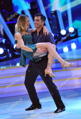 Simone Montedoro with Lara's partner