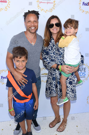 Editorial picture of Safe Kids Day, Arrivals, Los Angeles, USA - 23 Apr 2017
