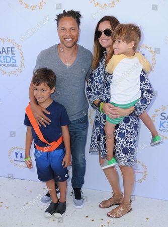 Cobi Jones and family