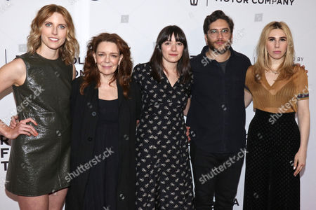 Editorial picture of 'The Boy Downstairs' screening, Arrivals, Tribeca Film Festival, New York, USA - 23 Apr 2017