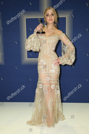 Stock Picture of Jessica Marais, winner of the award for 'Best Actress'.