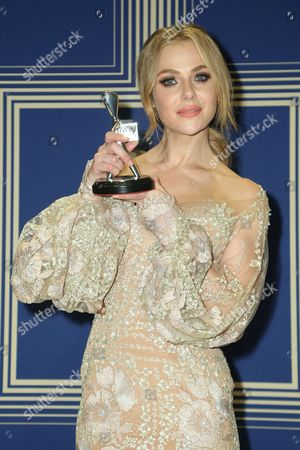 Stock Photo of Jessica Marais, winner of the award for 'Best Actress'.