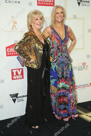 Stock Image of Patti Newton and Lauren Newton