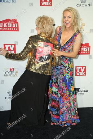 Stock Photo of Patti Newton and Lauren Newton