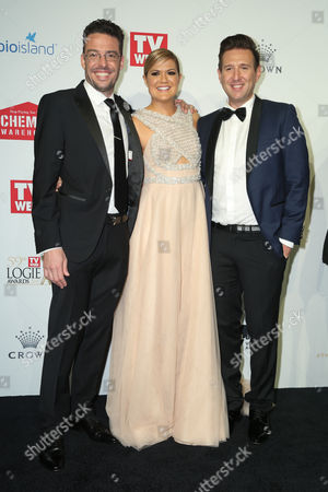 Editorial picture of 59th Annual TV WEEK Logie Awards, Arrivals, Melbourne, Australia - 23 Apr 2017