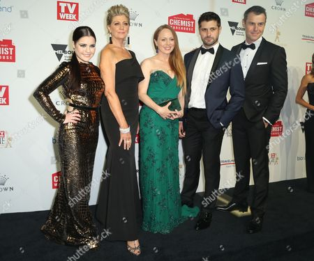 Doctor Doctor Cast (Chloe Bayliss, Rodger Corser)