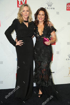 Stock Image of Rebecca Gibney and Jane Hall
