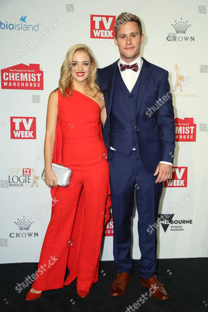 Editorial image of 59th Annual TV WEEK Logie Awards, Arrivals, Melbourne, Australia - 23 Apr 2017