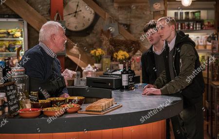Editorial photo of 'Emmerdale' TV Series - April 2017