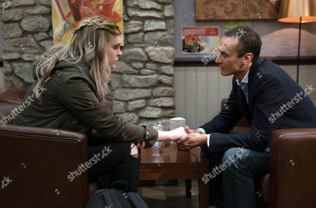 Jai Sharma, as played by Chris Bisson, confides in Nell, as played by Scarlett Archer, he's been through a custody battle before with Archie and lost and is worried about what will happen with Eliza. As Nell comforts him putting her hand onto his, Frank is nearby...with his cameraphone. (Ep 7813 - Mon 1 May 2017)