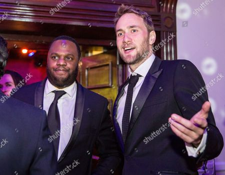 Stock Photo of Javone Prince and Oliver Chris