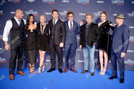 Editorial picture of 'Guardians of the Galaxy Vol.2' film premiere, Arrivals, Hammersmith Apollo, London, UK - 24 Apr 2017