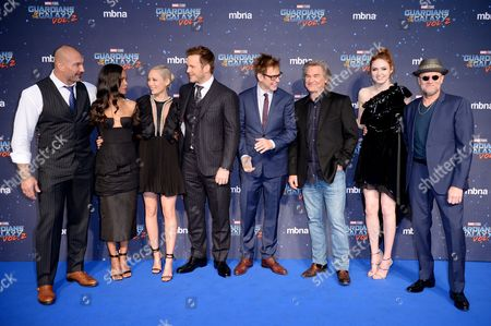 Editorial photo of 'Guardians of the Galaxy Vol.2' film premiere, Arrivals, Hammersmith Apollo, London, UK - 24 Apr 2017