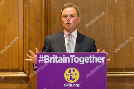 UKIP Deputy Leader Peter Whittle makes a part policy announcement at the Marriott County Hall in Westminster, London.