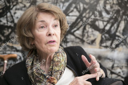 US Philosopher and politic analyst Susan George, president of the board of the Transnational Institute in Amsterdam, offers an interview to Efe news agency in Vitoria, Spain, on 24 April 2017. According to Susan George, the results of the first round of the French presidential elections have shown the 'serious historic mistake of not joining the left'.