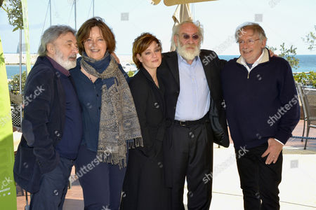 The director Gianni Amelio, the actress Greta Scacchi, the actress Giovanna Mezzogiorno, the actor Renato Carpentieri, Felice Laudadio