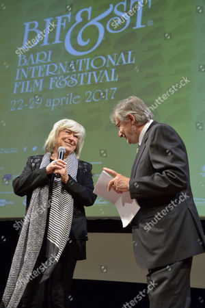 Editorial photo of Ceremony of awards, Bari International Film Festival, Bari, Italy - 24 Apr 2017