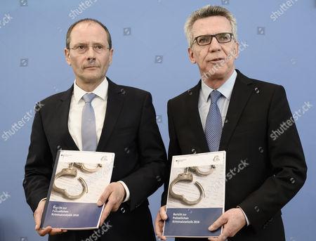 Markus Ulbig and Thomas de Maiziere