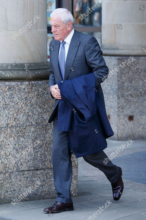 Former Rangers manager Walter Smith leaves court.