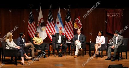 Editorial image of Obama, Chicago, USA - 24 Apr 2017