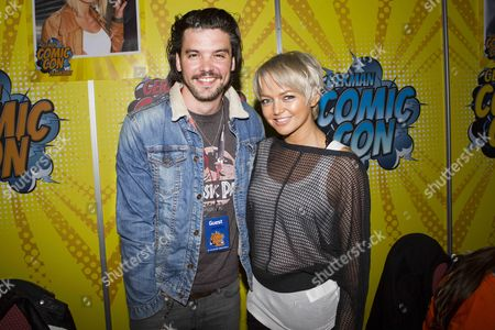 Andrew Lee Potts (Primeval, Dracula, Alice) and Hannah Spearritt (Primeval, S Club 7, Chuckys Baby)
