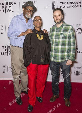 Sam Pollard, Bertha Lewis, and Reuben Atlas