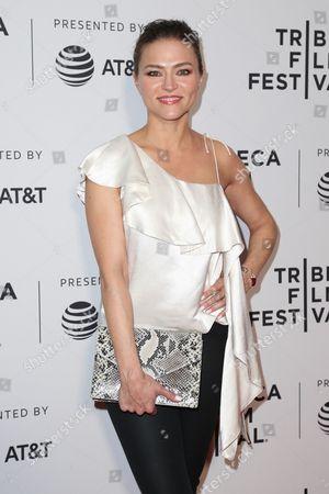 Editorial picture of 'Devil's Gate' film premiere, Tribeca Film Festival, New York, USA - 24 Apr 2017