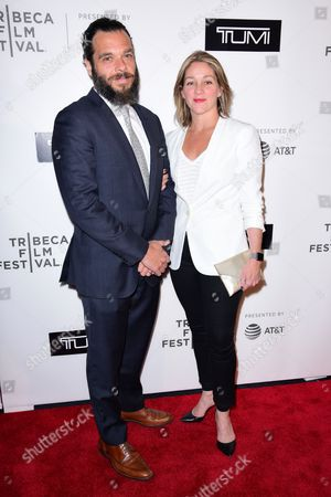 Editorial picture of Tumi debuts '19 Degree Experience', Arrivals, Tribeca Film Festival, New York, USA - 24 Apr 2017