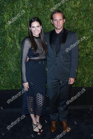 Josh Lucas and Jessica Ciencin Henriquez