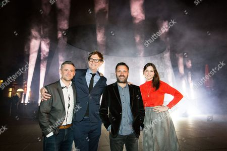 Mark Thompson, Mark Dolan, Shaun Keavney and Sophie Ellis-Bextor