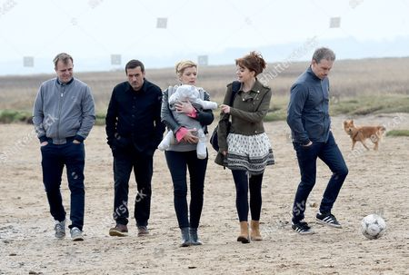 Simon Gregson, Chris Gascoigne, Jane Danson, Georgia Taylor and Ben Price